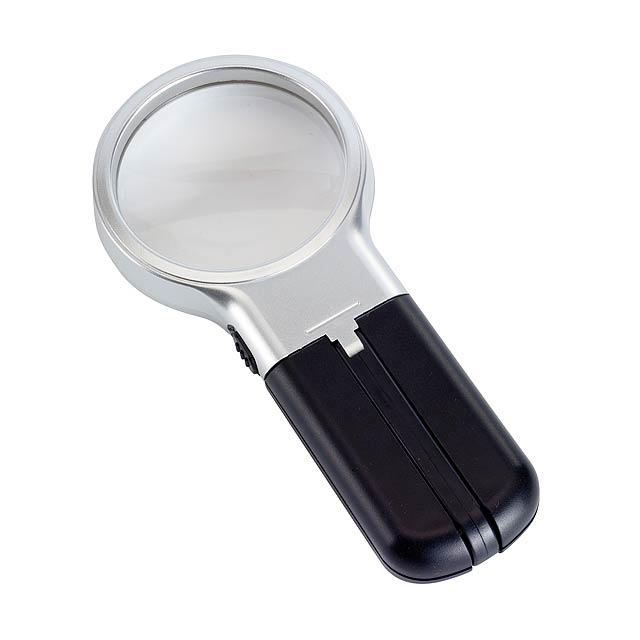 Zvětšovací sklo SHERLOCK - stříbrná