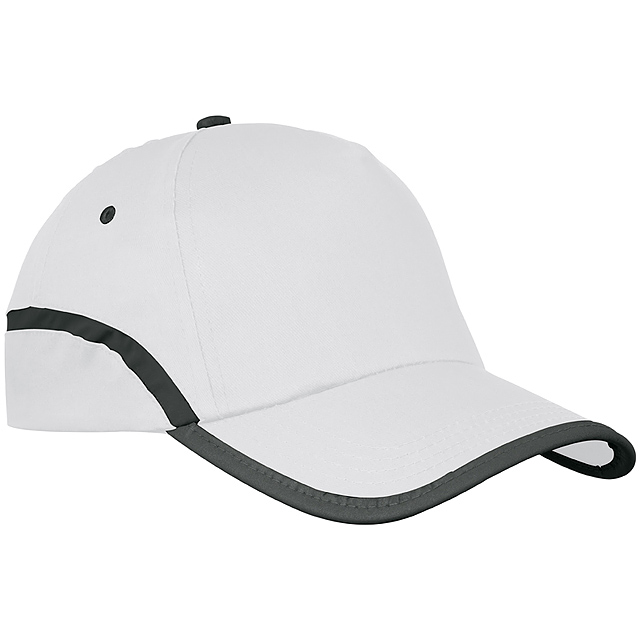 Bavlněná kšiltová čepice - bílá