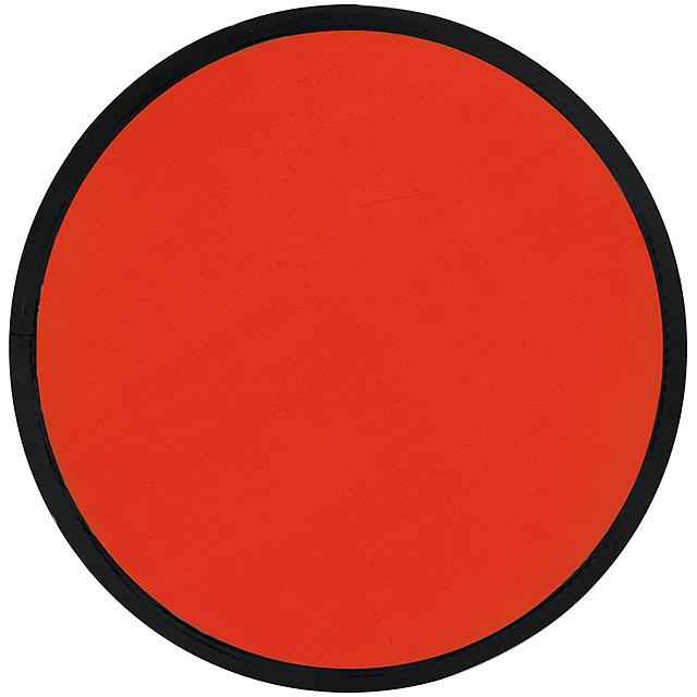 Skládací frisbee - červená