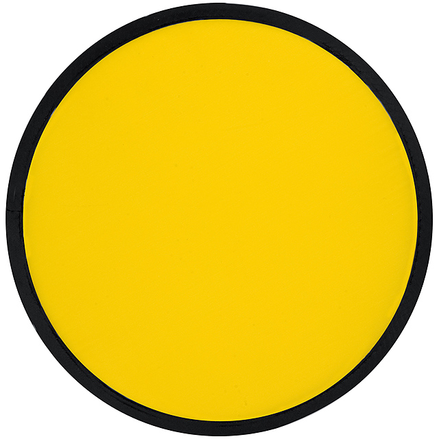 Skládací frisbee - žlutá