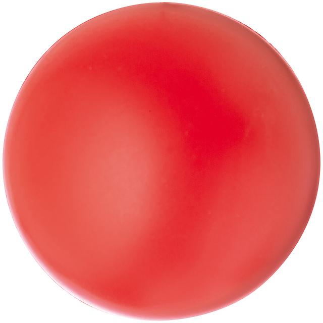 Antistresová míč - červená