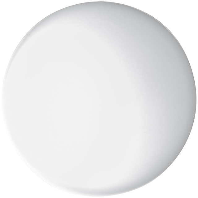 Antistresová míč - bílá