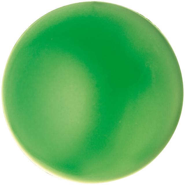 Antistresová míč - zelená