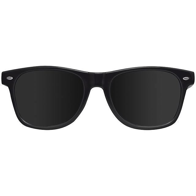 Veselé sluneční brýle - černá