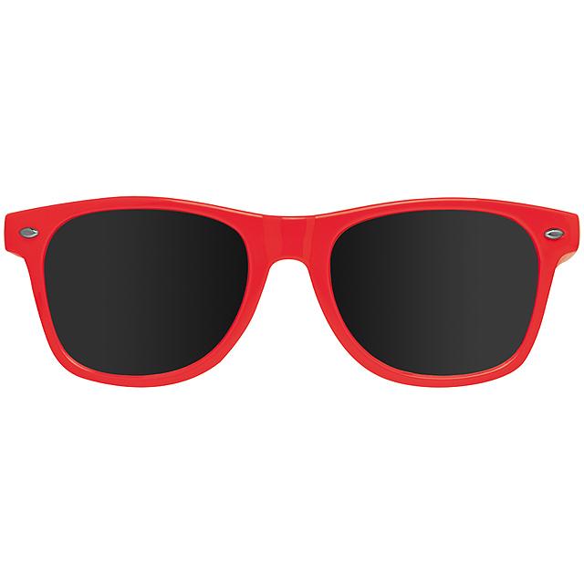 Veselé sluneční brýle - červená