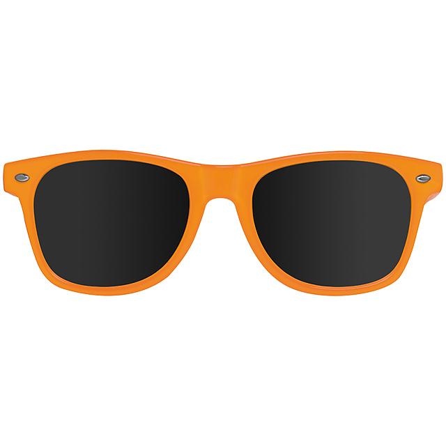 Veselé sluneční brýle - oranžová