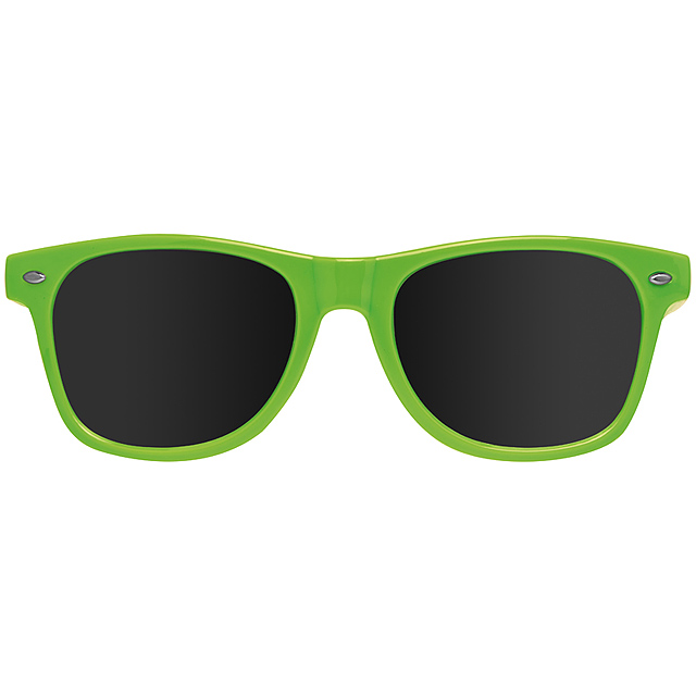 Veselé slnečné okuliare - citrónová - limetková 62e924e20b7