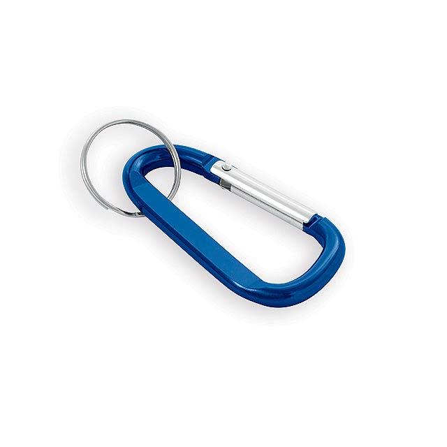 GARIN kovový přívěsek na klíče, karabina, Modrá - modrá