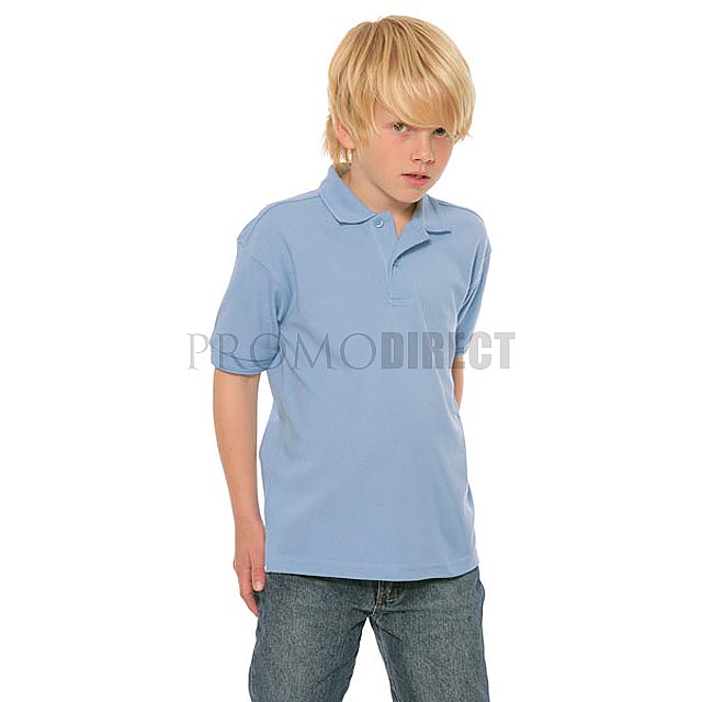 Russell Europe - Dětské triko - bílá