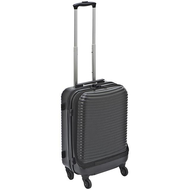 Kufr z pevného materiálu - černá