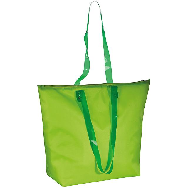 Plážová taška - citrónová - limetková