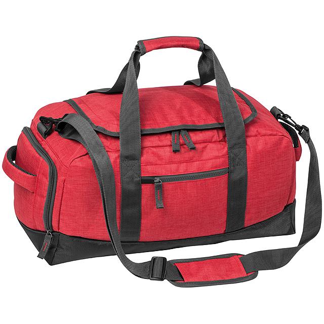 Vysoce kvalitní sportovní taška - červená