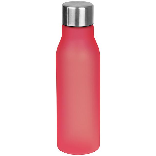 Plastová láhev - červená