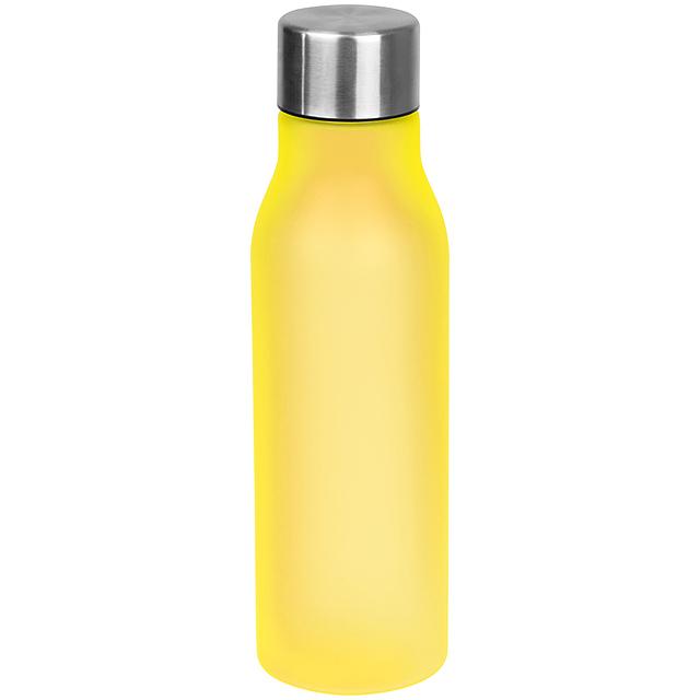 Plastová láhev - žlutá