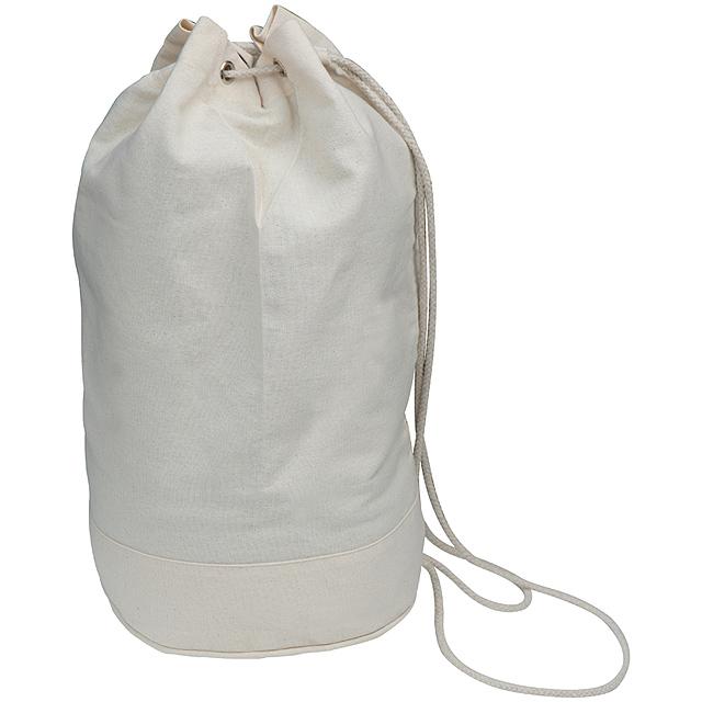 Bavlněná taška - bílá