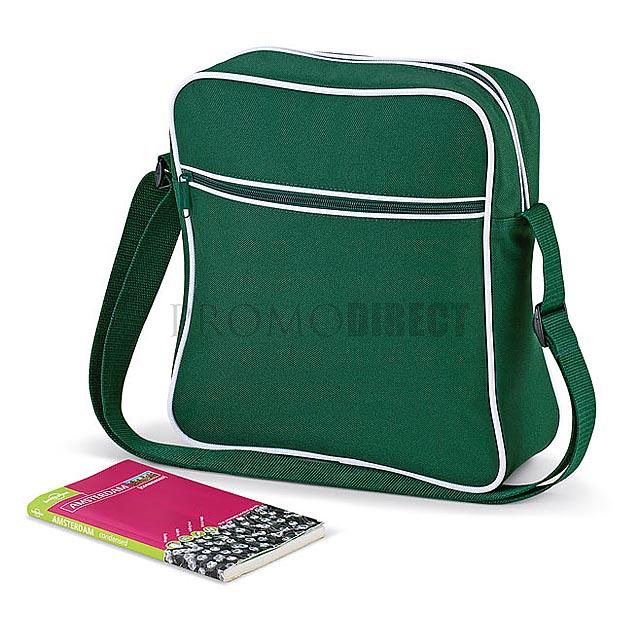 Bag Base - retro taška - černá