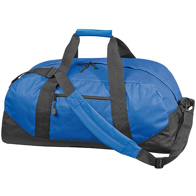 Kvalitní velká cestovní taška - modrá