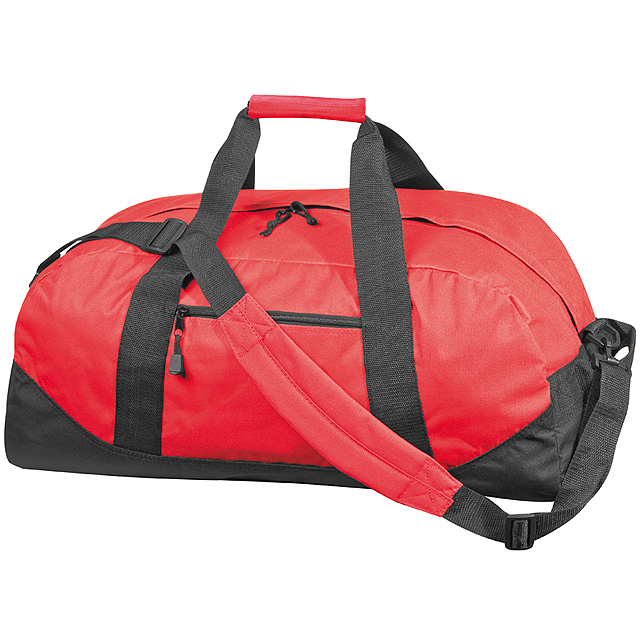 Kvalitní velká cestovní taška - červená