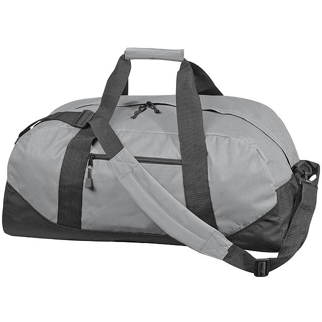 Kvalitní velká cestovní taška - šedá