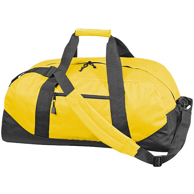 Kvalitní velká cestovní taška - žlutá