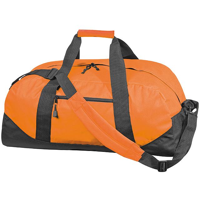 Kvalitní velká cestovní taška - oranžová