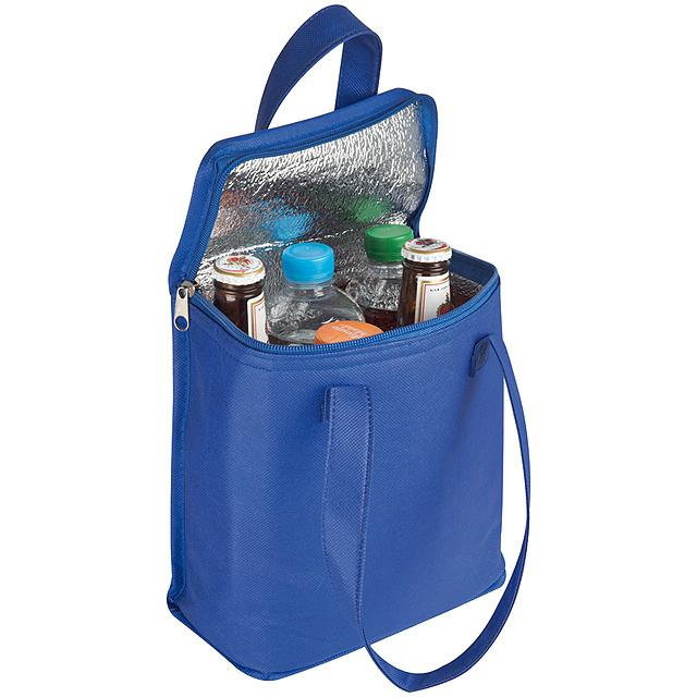 Non-woven chladící taška - modrá