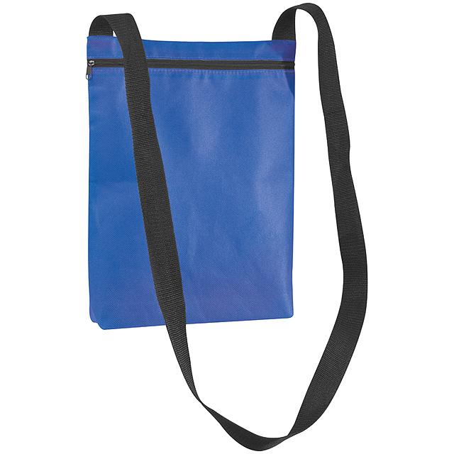 Netkaná taška přes rameno - modrá