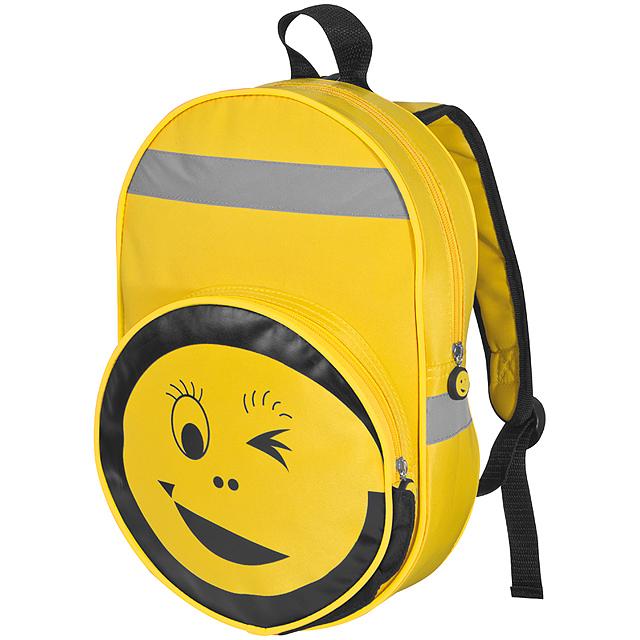 Smile batoh - žlutá