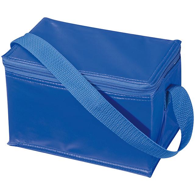 Mini chladící taška - modrá