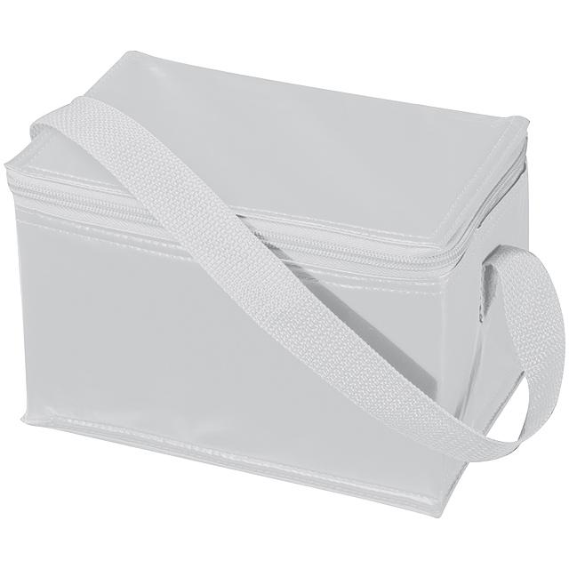Mini chladící taška - bílá
