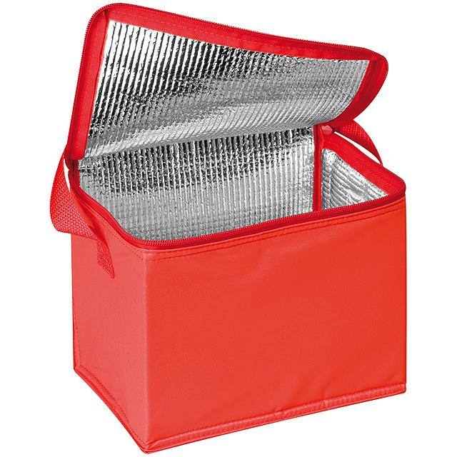 Mini chladící taška - červená