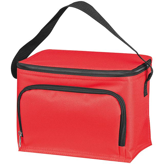 Chladící taška z polyesteru - červená
