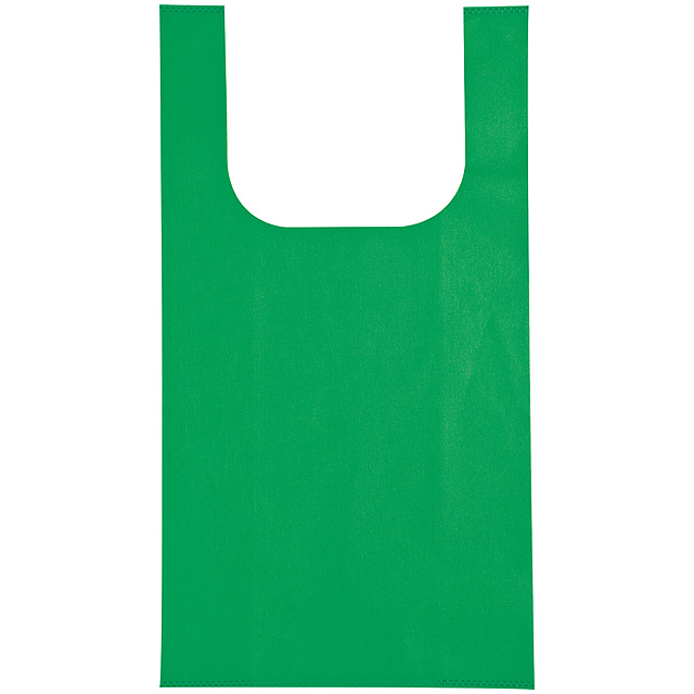 Non-woven shopping bag - green