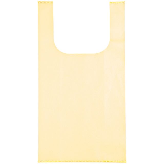 Non-woven shopping bag - beige