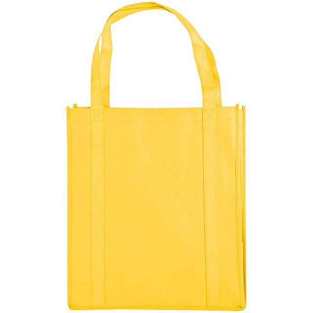 Non-woven nákupní taška - žlutá