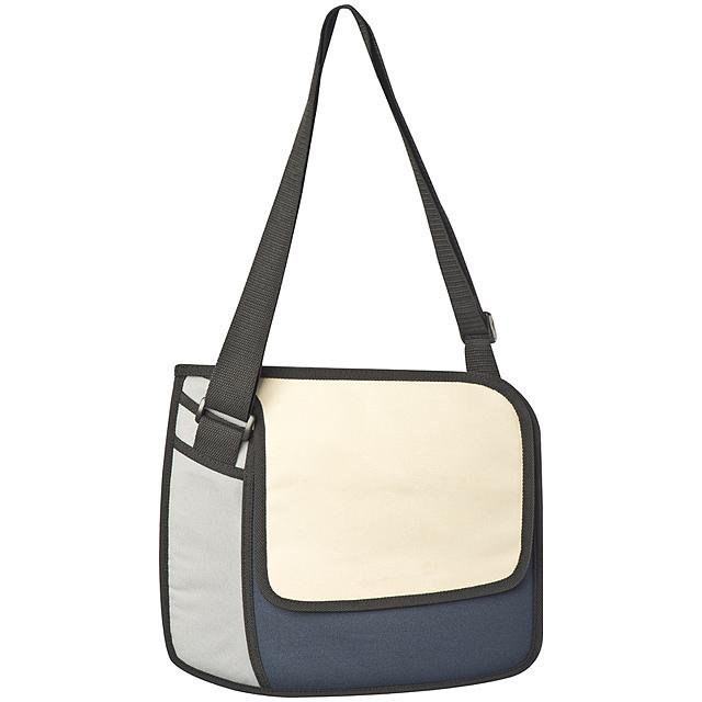 3D taška, malá - modrá