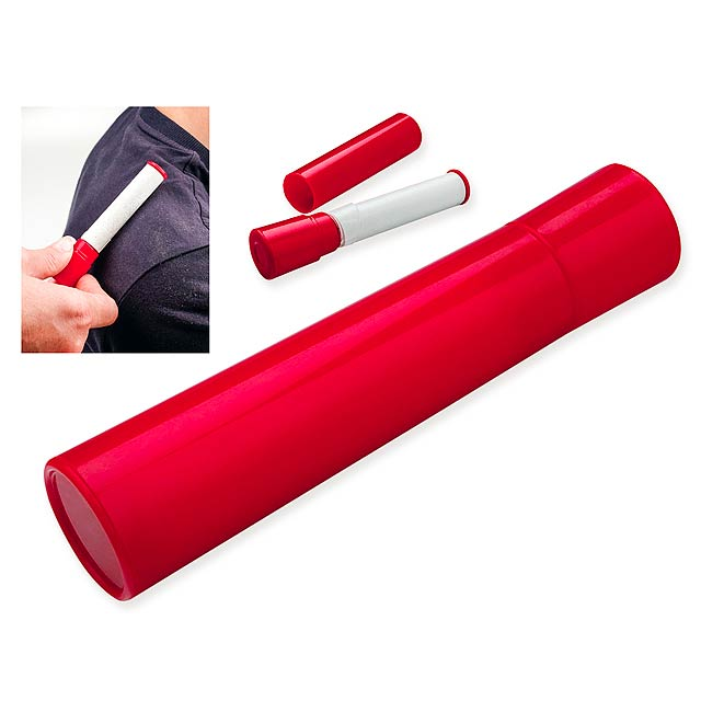 VANCE - Cleaning roller for textile. - red