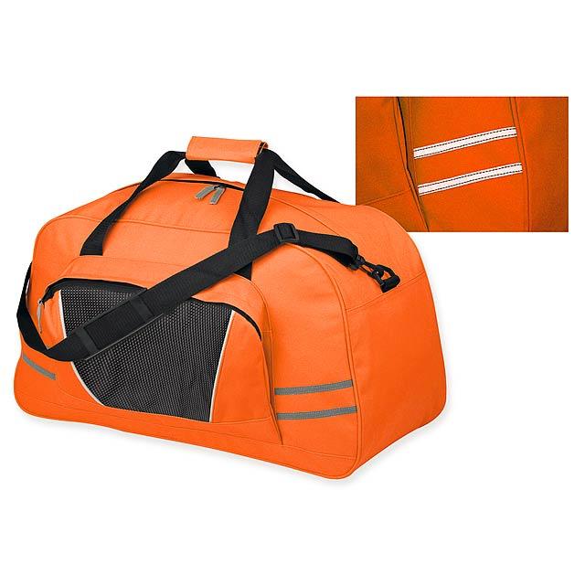 NORMAN polyesterová cestovní taška, 600D, Oranžová - oranžová