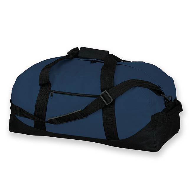 ACTON - polyesterová cestovní taška, 600D - modrá