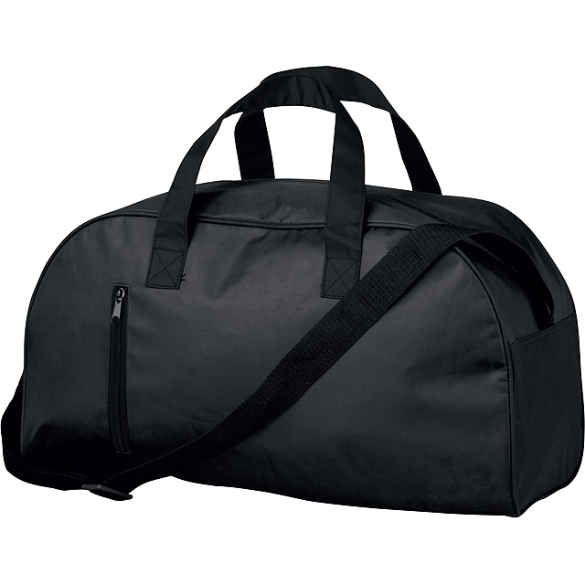 24a5f28e532 NIKA - Polyester travel bag with shoulder strap, 420D. 1 main and 1  additional pocket, firm bottom.