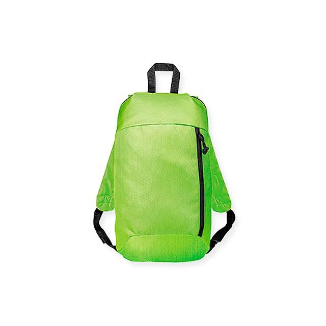CHERINE polyesterový batoh, 600D, Světle zelená - zelená