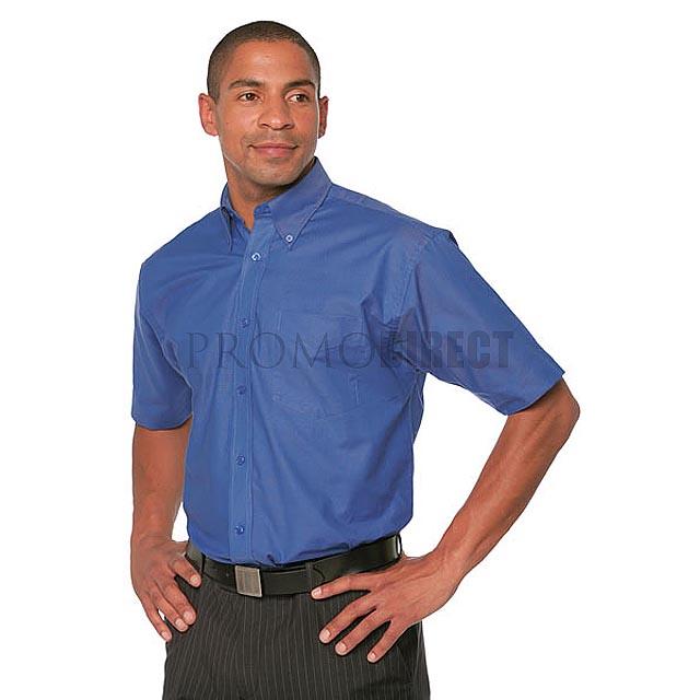 Kustom Kit - pánská košile krátký rukáv - černá