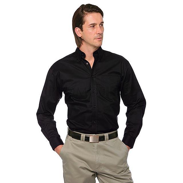 Kustom Kit - pánská košile - černá