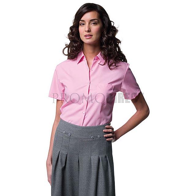 Russell Europe - dámská košile krátký rukáv - bílá