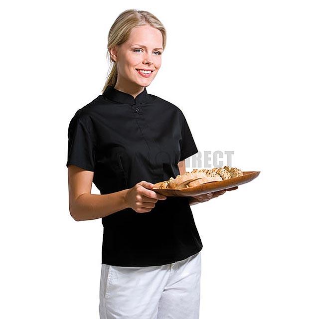 Kustom Kit - barmanská košile dámská - černá