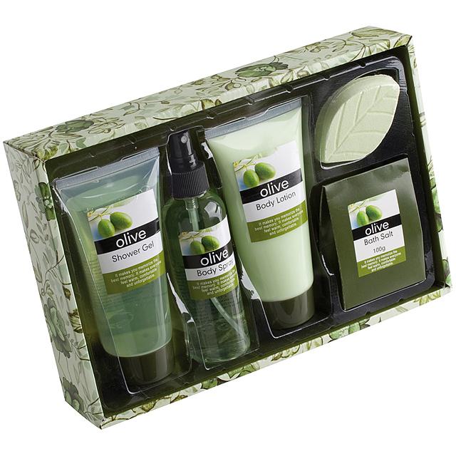 Kosmetická sada (4) - zelená