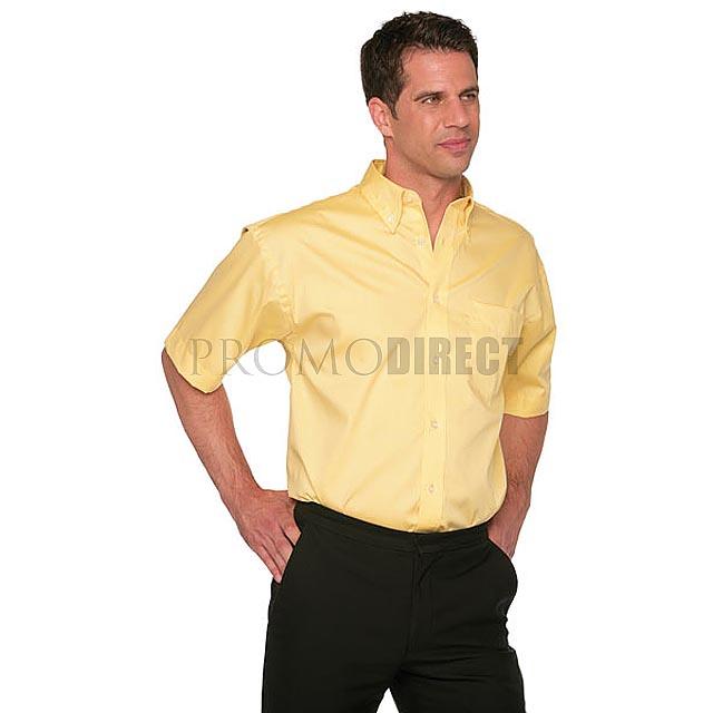 Kustom Kit - pánská košile krátký rukáv - bílá