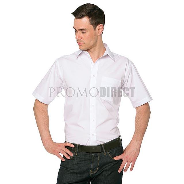 Fruit of the Loom - pánská košile krátký rukáv - černá