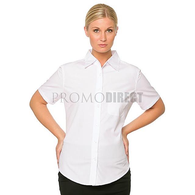 Fruit of the Loom - dámská košile krátký rukáv - černá 2d6ca43745