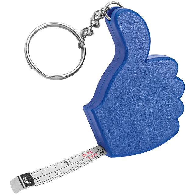 Přívěsek na klíče - modrá